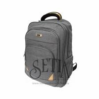 Tas Merk Polo Home 78107 + Rain cover Ransel/Kantor/Sekolah/Backpack