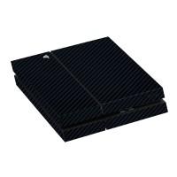 9Skin - Premium Skin Protector Case Playstation 4 PS4 PS3 Black Carbon