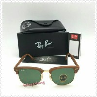 harga [WOOD] Sunglasses Clubmaster Wood Lens Green Bottle Tokopedia.com