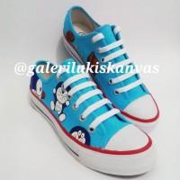 harga Sepatu Low Sneakers Lukis Doraemon Tokopedia.com
