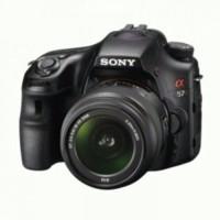Sony Alpha SLT-A57K + Lens