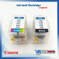 Ink Tank Cartridge Canon Black+ Color Model 41, 831, 98, 741