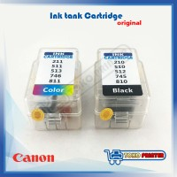 Ink Tank Cartridge Canon Black Model 210/211, 745/746, 810/811