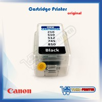 Ink Tank Cartridge Canon Black Model 210, 510, 512, 745, 810