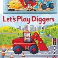 Let's Play Diggers Magnetic Story and Play Book