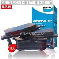 NISSAN X-GEAR, GRAND LIVINA 2008-2011 F BRAKE PAD BENDIX - TDC