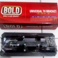 "WALL Braket TV LED LCD 15-32"" BOLD in Bracket Breket Dinding UNIVERSAL"