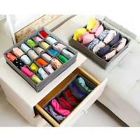 3 In 1 Underwear Storage Box Set / Set Kotak Penyimpanan Pakaian Dalam