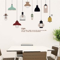 wallsticker 60x90/wallstiker transparan-JM7306-LIGHT