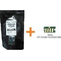 Bubuk Toner Xerox CP115/CM115 BLACK Colour Japan + Chip