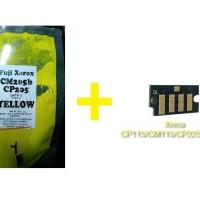Bubuk Toner Xerox CP115/CM115 YELLOW Colour Japan + Chip