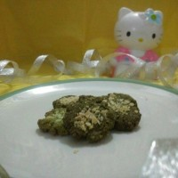 Green Tea Oat Cookies