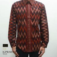 harga KPRM013 Kemeja Tirto Tejo Tenun Premium Batik Risna Katun Exclusive Tokopedia.com