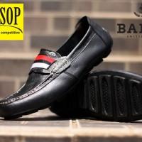 sepatu Casual bergaya elegan Bally shoes leather