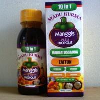Madu Kurma Manggis Plus Propolis 10 in 1