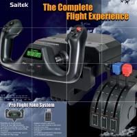 SAITEK PC PRO FLIGHT CESSNA YOKE SYSTEM