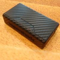 Skin / Sticker Carbon box / electrical mod Vaporshark DNA 200