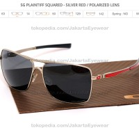 Plaintiff Squared - Silver Red / Polarized