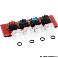 Max Keyboard Keycap, Cherry MX Switch, O-Ring Sampler Tester Kit