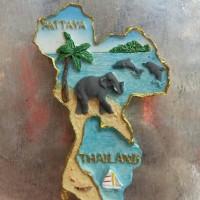 MAGNET KULKAS NEGARA THAILAND BANGKOK