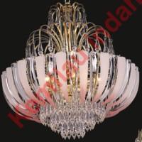 harga LAMPU HIAS PLAFON GANTUNG SCH-20680-6GD BOHLAM LED FITTING E27 ANTIK Tokopedia.com