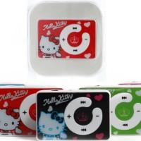 MP3 Hello Kitty Clip / Portable Mini Clip MP3 Player Hello Kitty