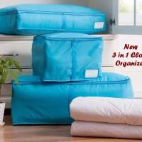New 3 in 1 Cloth Organizer (1 set isi 3 pcs organizer ukuran berbeda)