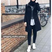 Celana Hijab Model Terbaru, Legging Wudhu Pelangi