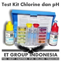 Test Kit Chlorine dan pH merk Hayward - Tes Testkit Teskit Air