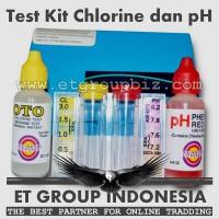 Test Kit Chlorine dan pH merk Pentair / Rainbow - Tes Mutu Air