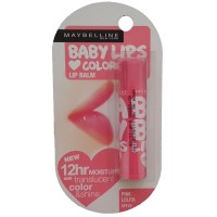 Maybelline Lip Balm : Baby Lips Loves Color Pink Lolita 100% Original