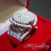 Cincin berlian fashion wanita