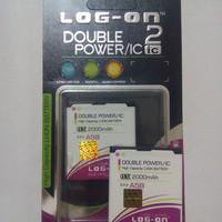 Baterai/battery Logon Double Power Evercoss A5b
