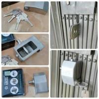 Gembok Ruko / Folding Gate Arcel Stainless Steel