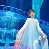 Gaun princess Elsa Frozen 5 tahun