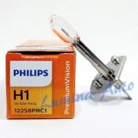 Jual Philips Premium Vision H1 55W +30% Lebih Terang - Lampu halogen mobil Murah