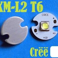 harga CREE XM-L2 T6 LED WHITE Emitter USA 16mm Aluminium Base Tokopedia.com