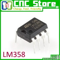 [CNC] LM358P LM358 DIP-8 SINGLE SUPPLY DUAL OPERATIONAL AMPLIFIER