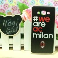 harga Samsung A8 - Softcase Custom Case Casing We Are Ac Milan jersey Tokopedia.com
