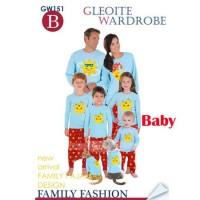 Harga baju bayi import setelan baju tidur bayi piyama anak pajama gw | Pembandingharga.com