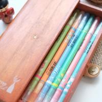 Plant Wooden Pencil Case / Tempat Pensil / Alat Tulis