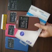 Flipshell / Leather Case / Dompet HP Blackberry Gemini (BB 8520)
