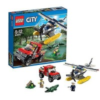 LEGO City - 60070 Water Plane Chase Set Cop Police Jeep Truck Airplane
