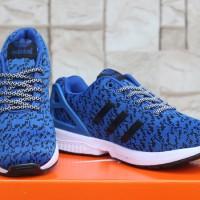 Sepatu Running-Fitnes-Shoes Adidas ZX Flux Decon Biru