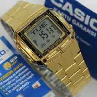 Casio Databank DB360 360 Gold stainless steel