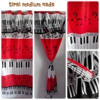 GAMBAR MOTIF GORDEN/DORDYN/TIRAI/HORDENG/KORDEN MOTIF PIANO/TANGGA NAD