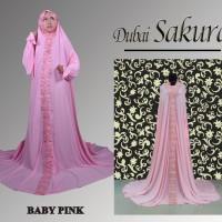 Mukenah Grosir dan Ecer Mukena 2016 Hasfita Warna Baby Pink