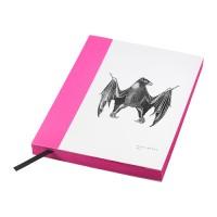 IKEA HISTORISK Buku Tulis 15x20 Cm, Pink, 140 Lembar Tidak Bergaris