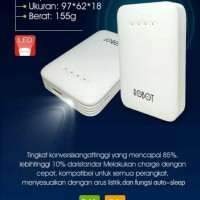 Jual Powerbank Vivan Robot RT6800 (6600mah) Murah