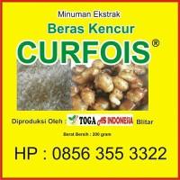 Minuman Sari Ekstrak Beras Kencur CURFOIS Produk Toga As Indonesia